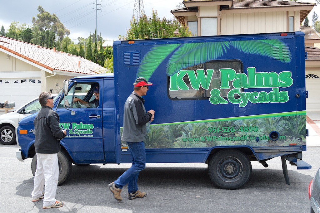 KW Palms and Cycads Van