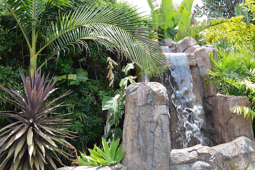Nesheiwat Garden Waterfall