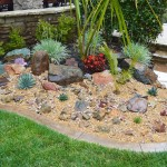 My weekend project: A new rock garden