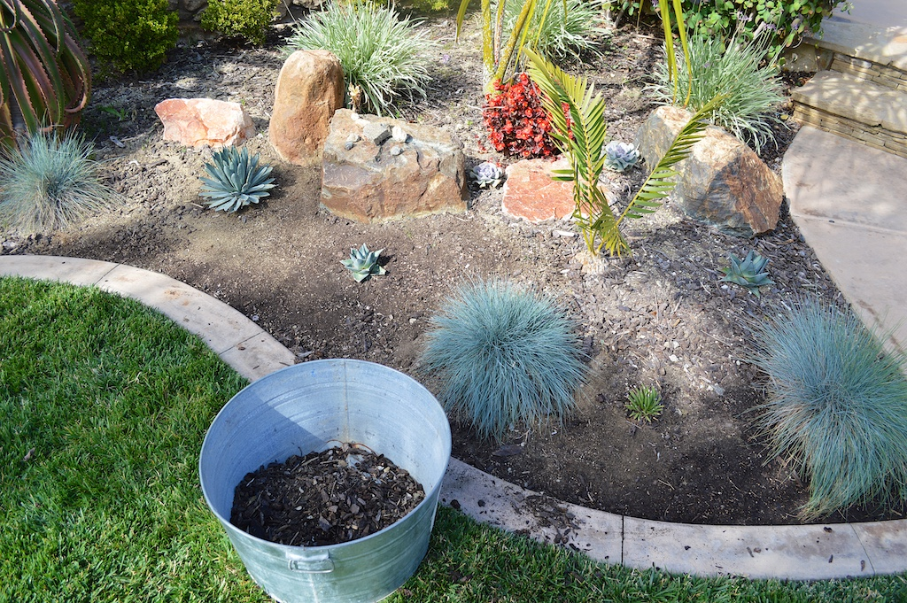 Weekend Project - Removing Mulch
