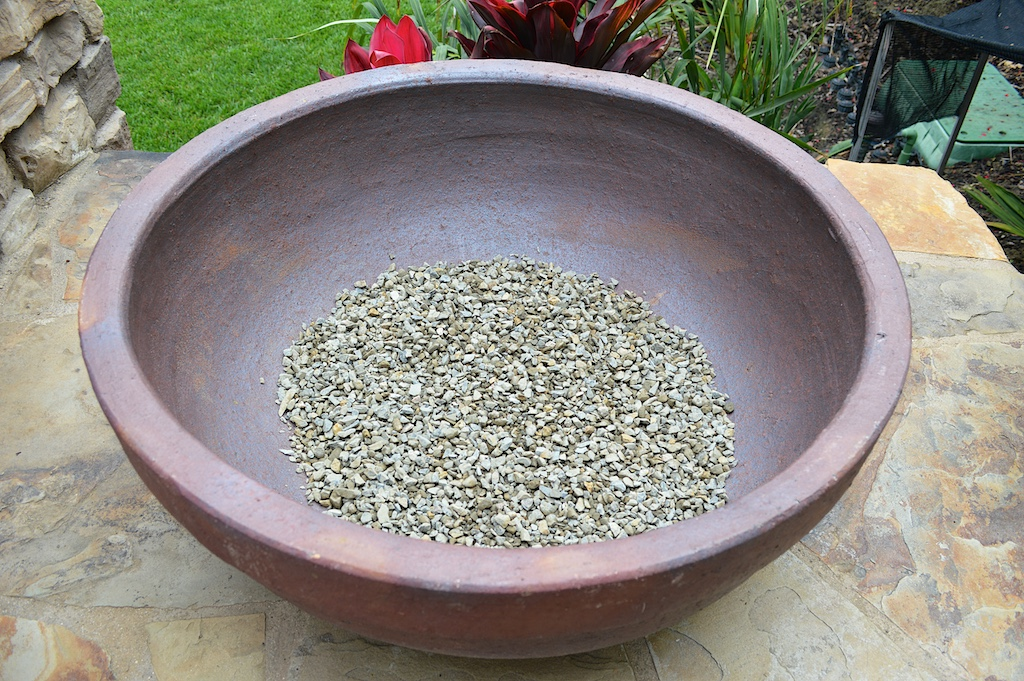 Succulent Pot Creation Step 1