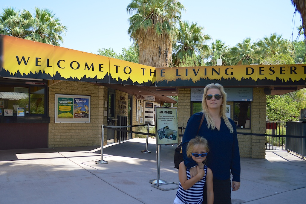 The Living Desert Entrance