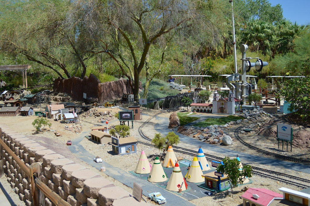 The Living Desert Model Train Area