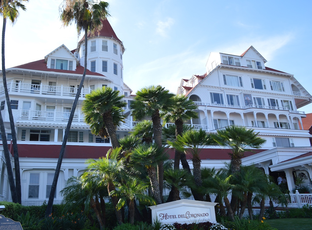 A weekend stay at the hotel del coronado for Hotel week end