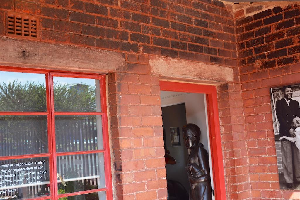 Mandela House with Bullet Hole