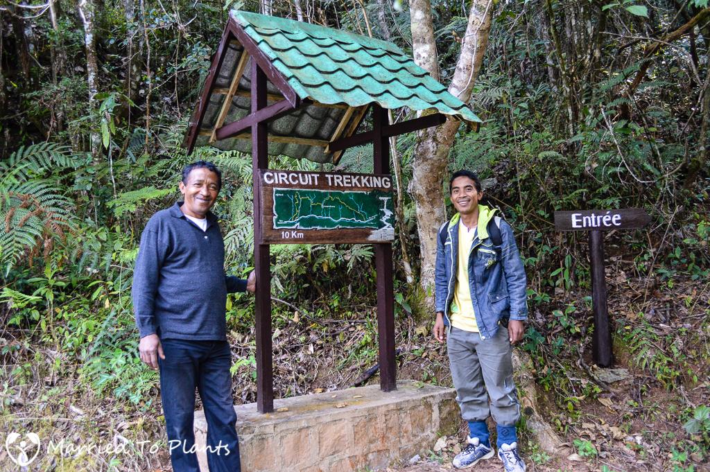 Mantadia National Park Circuit Trek Sign