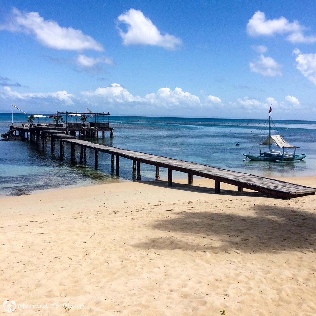 Princesse Bora Lodge Dock on Sainte Marie