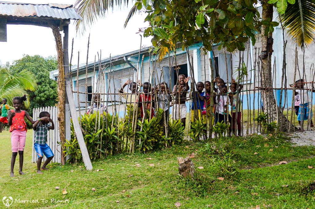 Sainte Marie Island School Children
