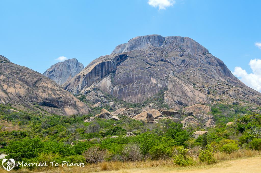 Iandrambaky Massif at Anja Reserve