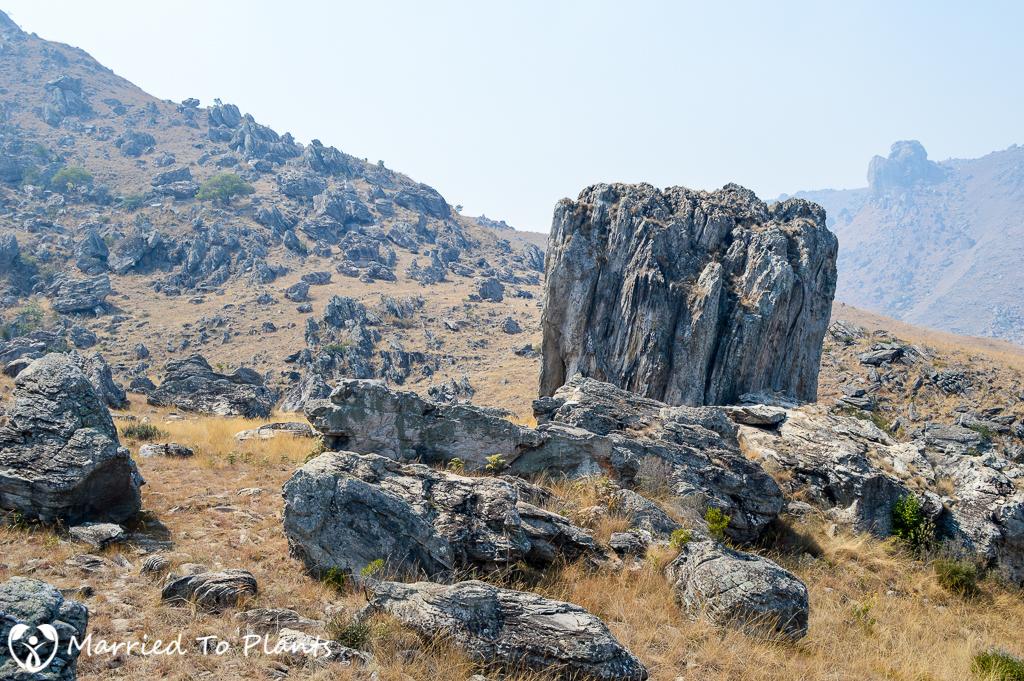 Mount Ibity Rocky Terrain