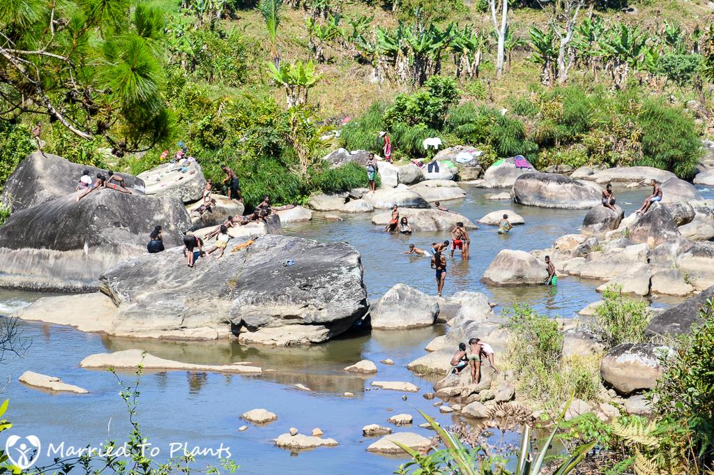 Swimming at Ranomafana