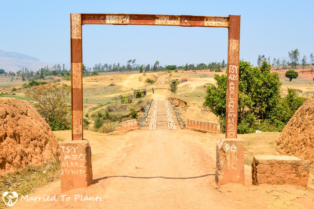 Road to Andringitra National Park