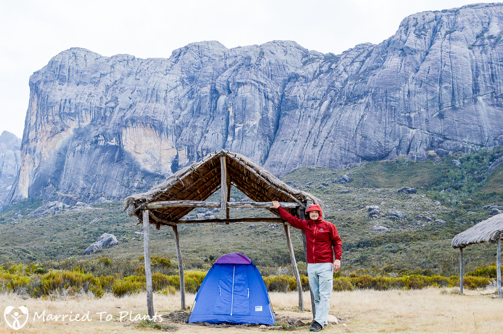 Andringitra National Park Tent at Camp 1
