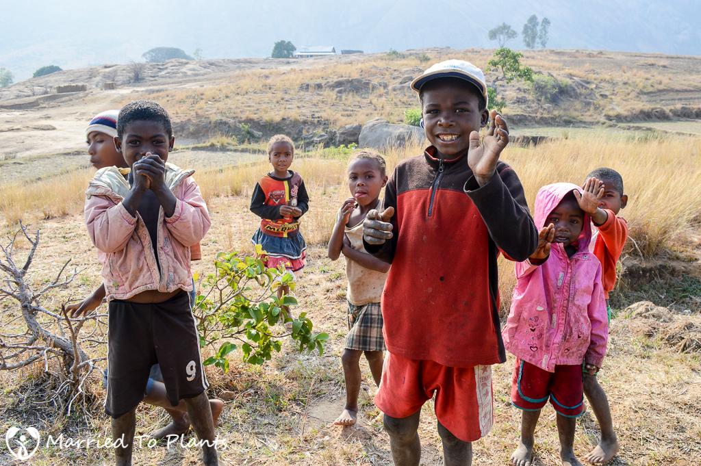 Children at Anja Reserve