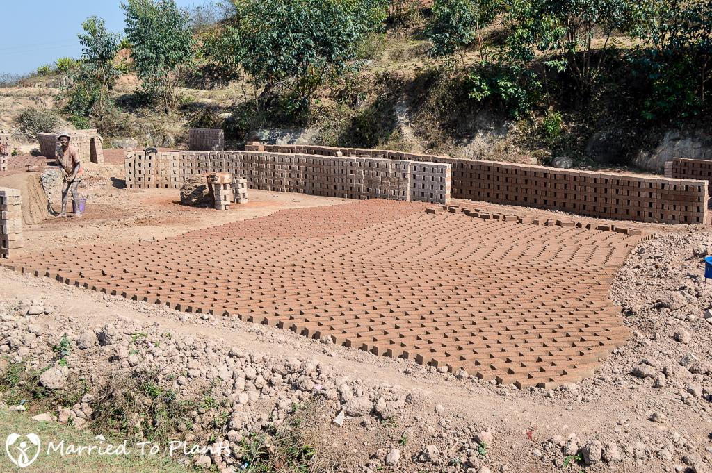 Making Bricks Outside Ambalavao