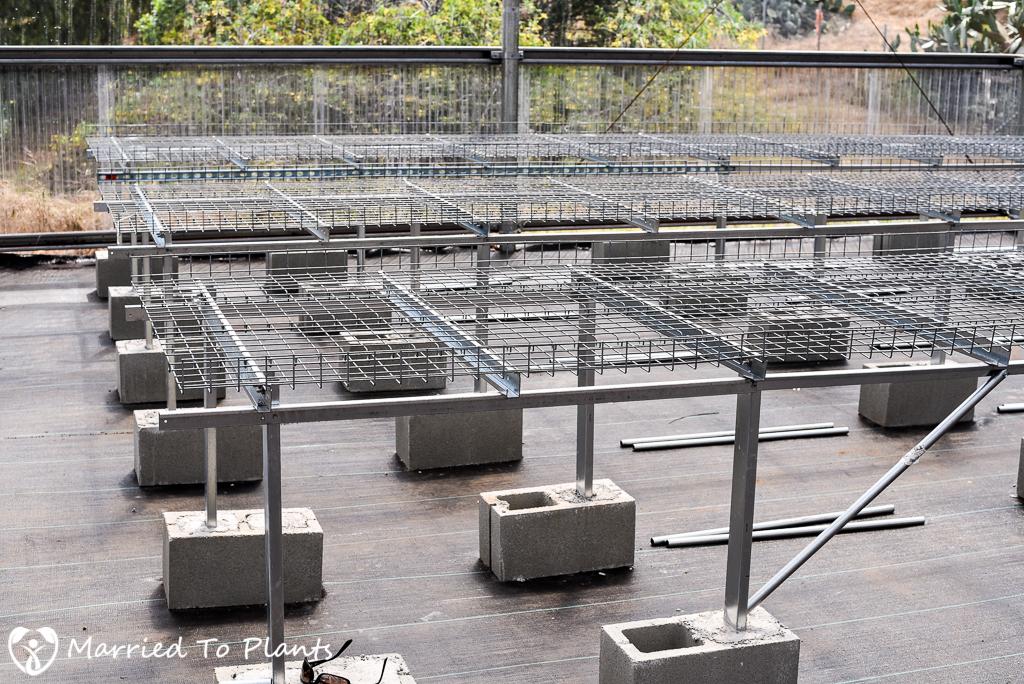 Josh Allen Greenhouse Conley's Grow Benches