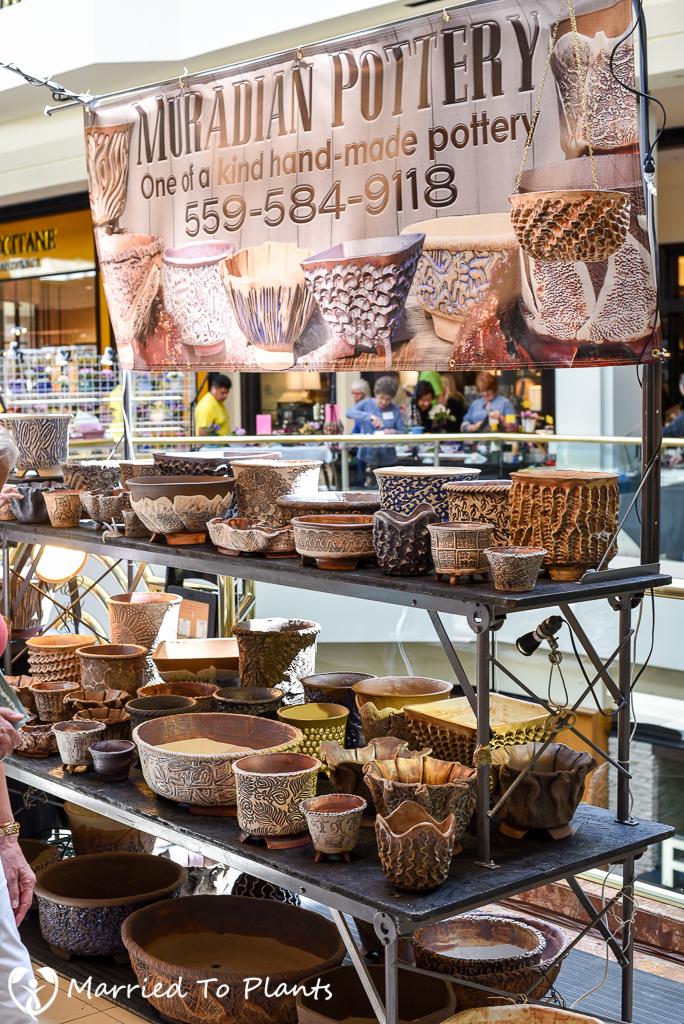 SC Spring Garden Show Mark Muradian Pottery