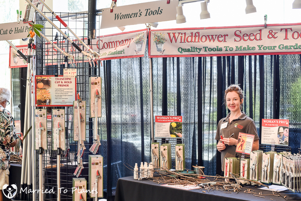 SC Spring Garden Show Wildflower Seed and Tool Company