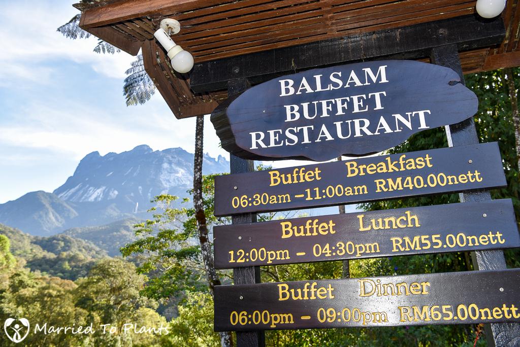 Mount Kinabalu Restaurant