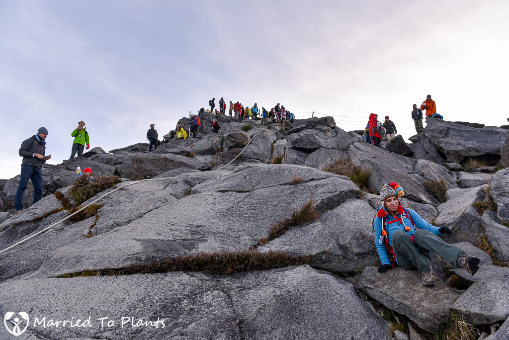 Mount Kinabalu Summit Decent