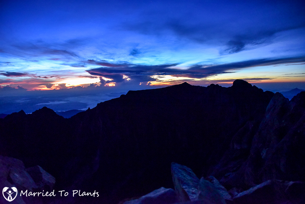 Mount Kinabalu Summit First Light
