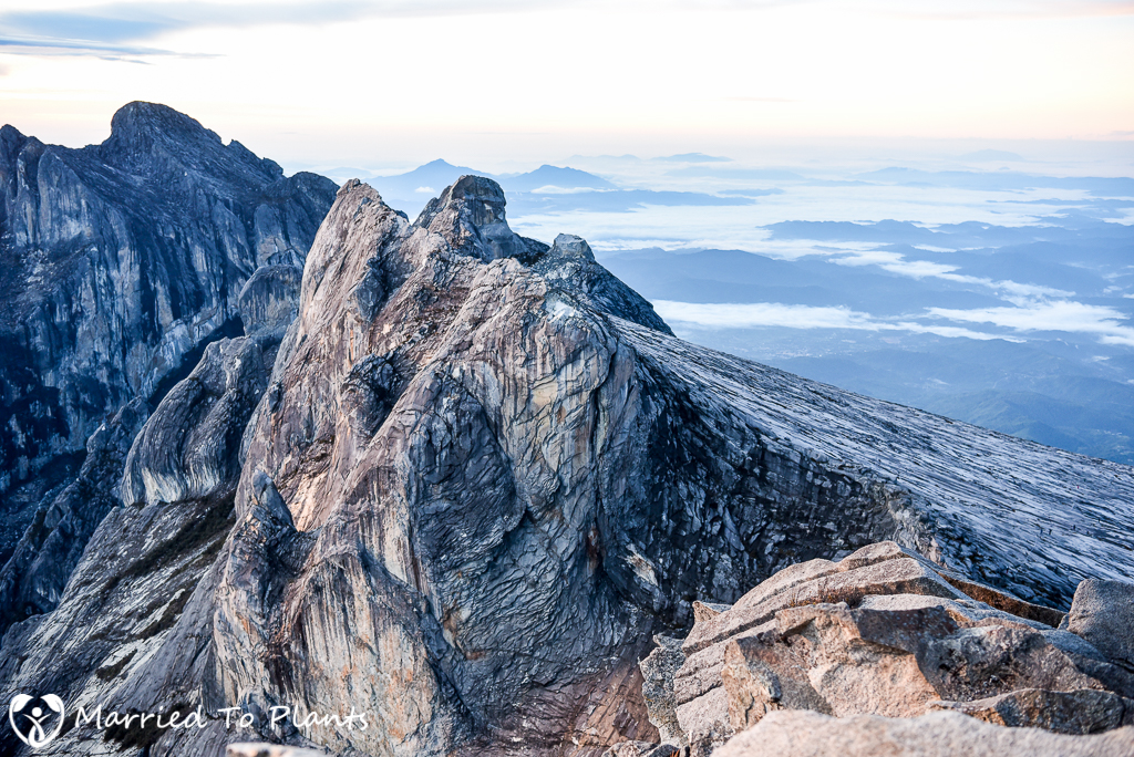 Mount Kinabalu Summit View East