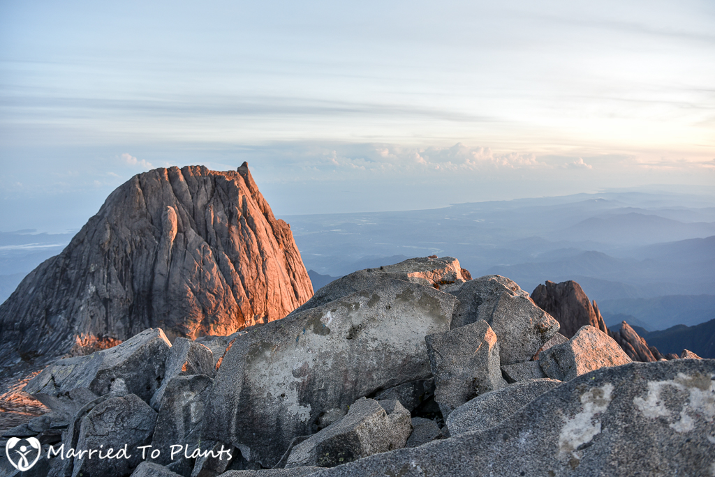 Mount Kinabalu Summit View West
