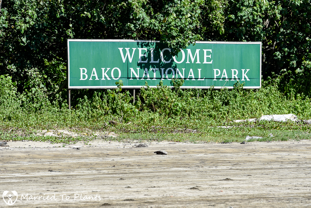 Bako National Park Sign
