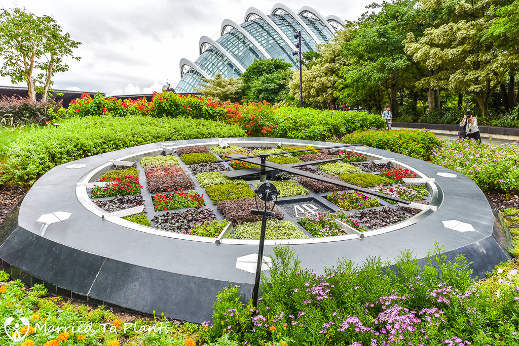 Gardens by the Bay Clock