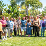 The Southern California Hibiscus Society tours my garden