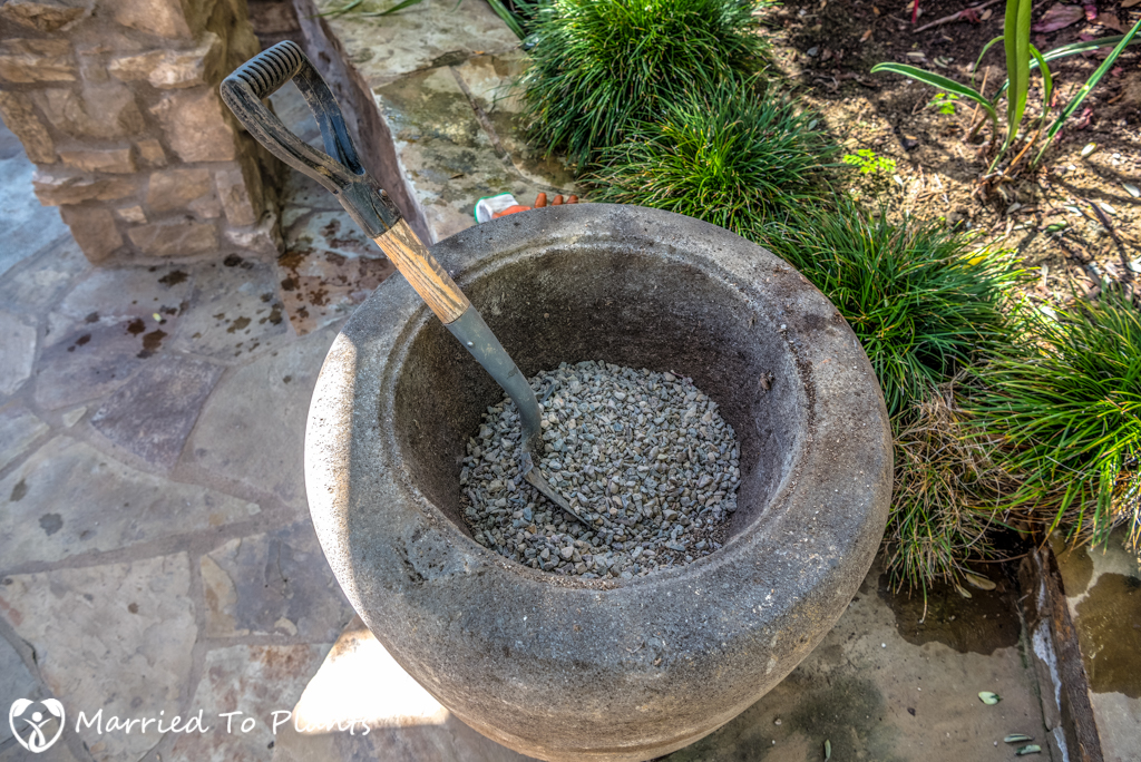 Lava Pots Empty