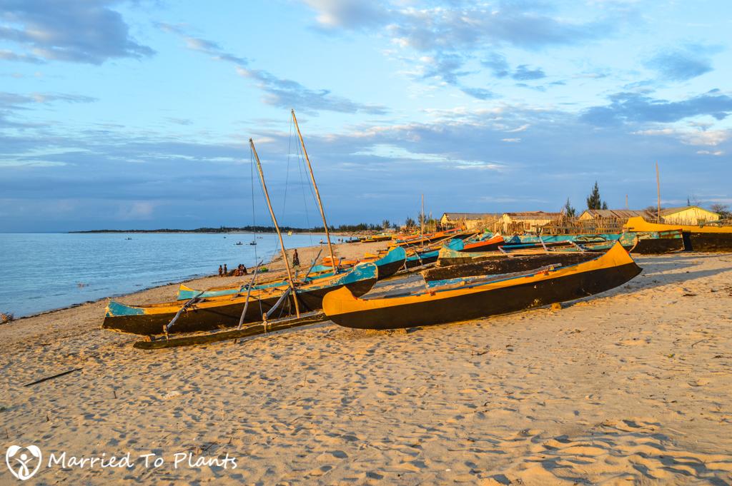 Anakao Boats at Sunset