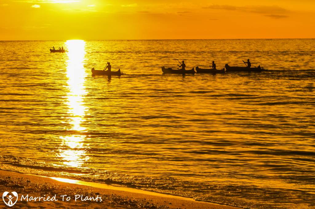 Anakao Fishermen at Sunset