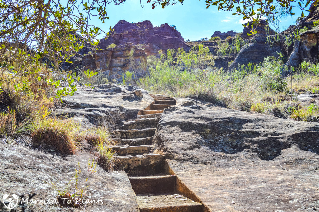 Isalo National Park Rock Steps