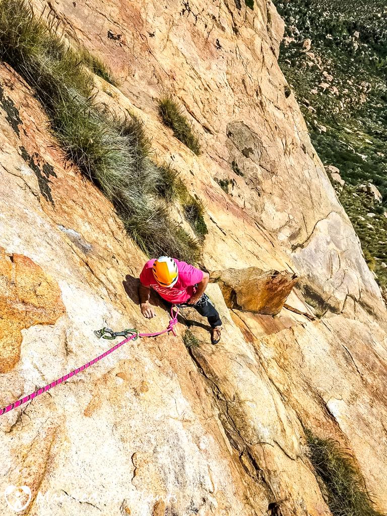 El Cajon Mountain Climbing