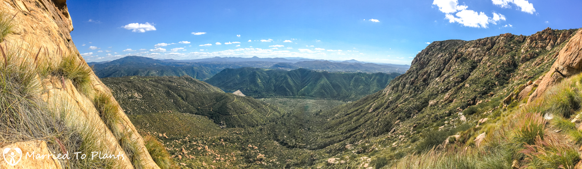 El Cajon Mountain Panoramic
