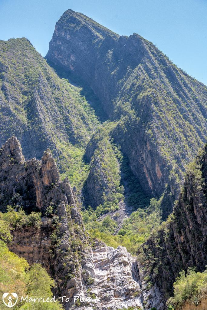 Huasteca Canyon - Peaks