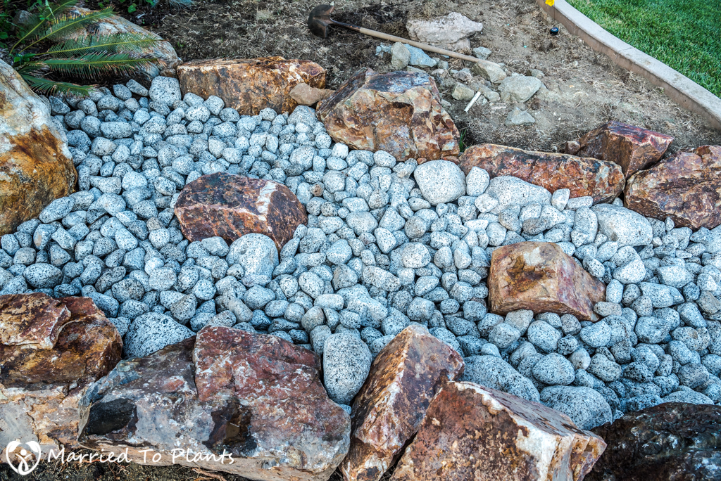 Dry Creek Bed - Medium River Rock Results