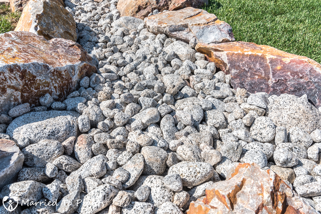Dry Creek Bed - Small River Rock Results