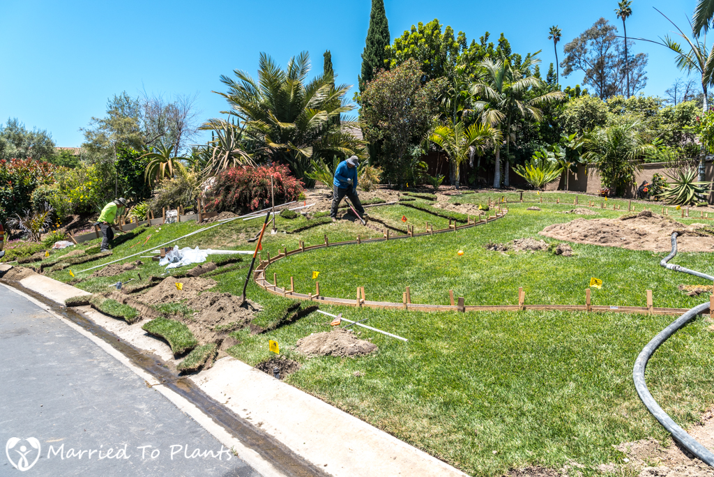 Garden Project Update - Moving Sprinklers