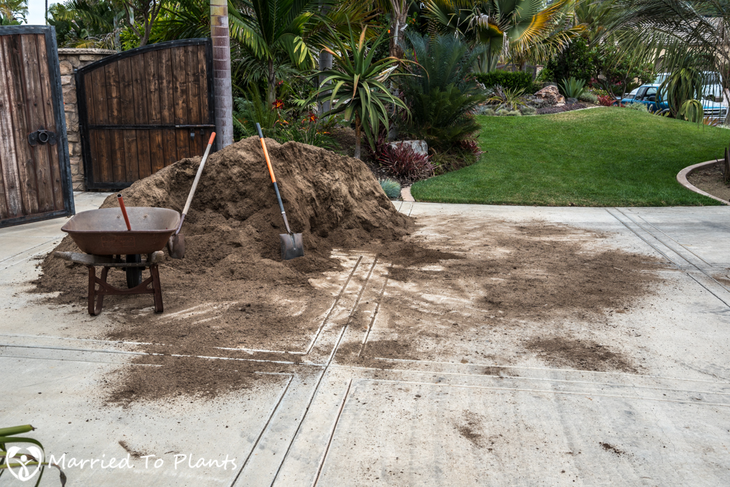 Planter Bed Preparation - Bioswale Mix