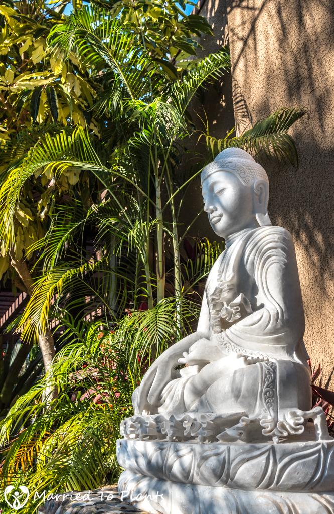 Geiger Garden - Marble Buddha